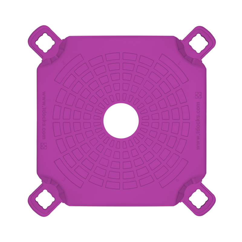 Purple Post Cube