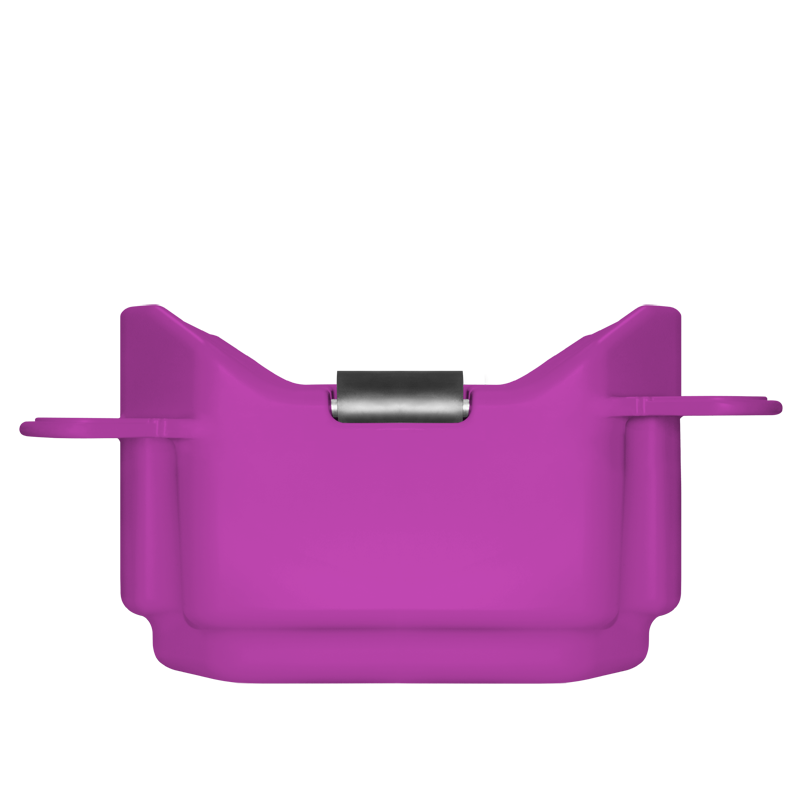 3327 Cube Purple Drive On with Roller